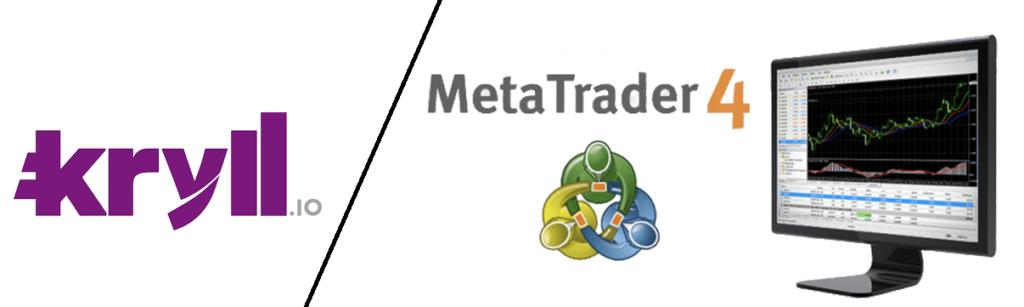 logo Kryll comparaison logo MT4